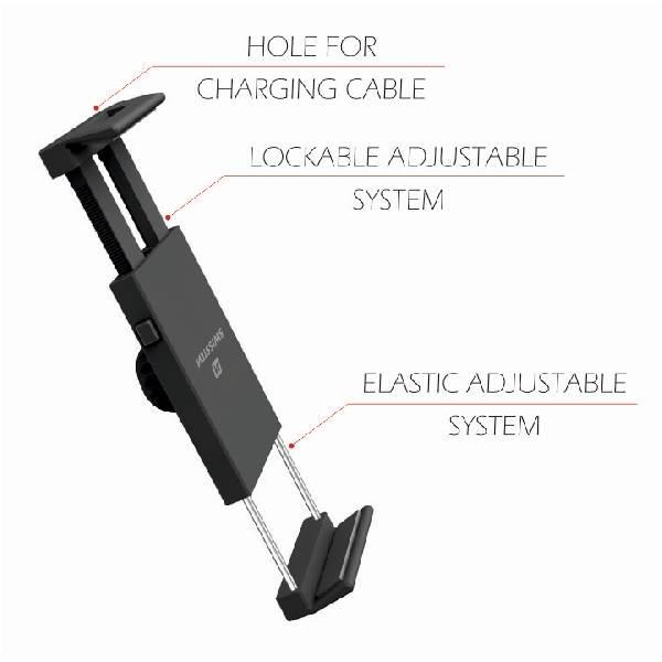 Swissten S-GRIP T1-HK θήκη αυτοκινήτου για Tablet-7