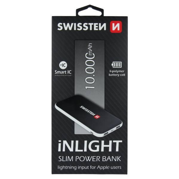 Swissten iNLIGHT Slim Power Bank 10000 mAh