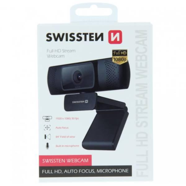 Swissten webcam Full HD FHD 1080Pb
