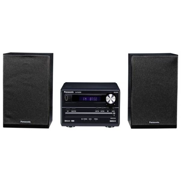Panasonic SC PM 250 EG K Micro HiFi Bluetooth Μαύρο1