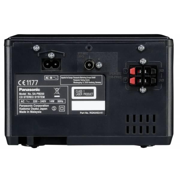 Panasonic SC PM 250 EG Micro HiFi Bluetooth