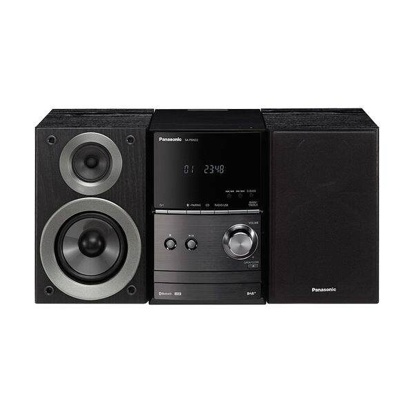 Panasonic SC-PM600EG-K Μαύρο Micro HI-FI